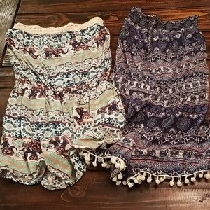 2 rompers